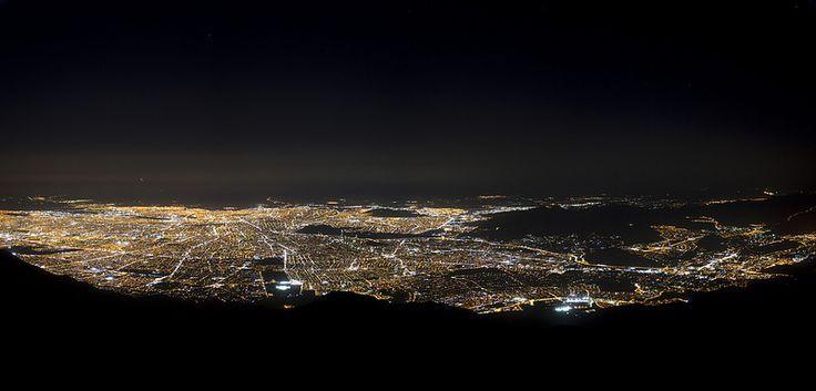 Santiago from Provincia Hill, Chile