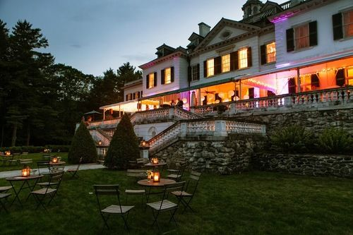 The mount lenox ma edith wharton 39 s home in the for Lenox ma wedding venues