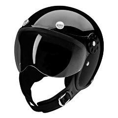 HCI Helmets - HCI 15 Series Motorcycle/Scooter Helmet 15Black.