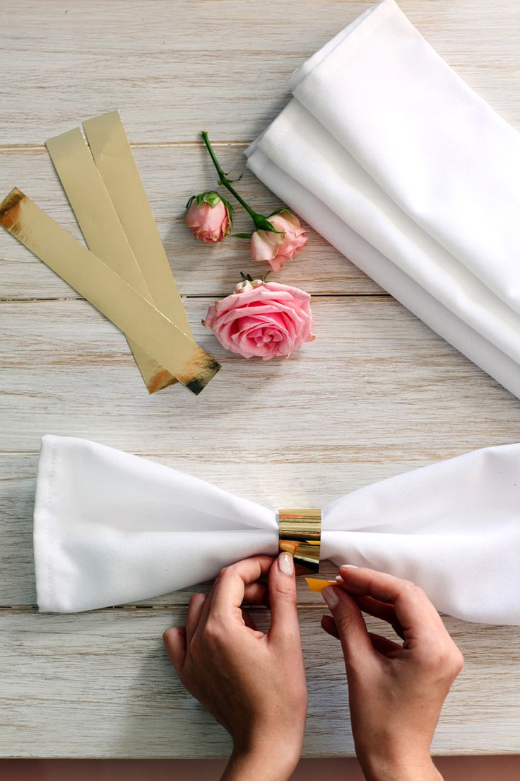 Paper rings for napkins #wedding #weddingday  #paperdecorations #rings #paperrings