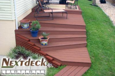 LockDry® Waterproof Decking and Nextdeck® Aluminum Decking