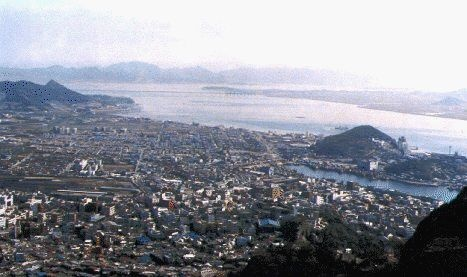 Mokpo, South Korea...my home for almost two years!