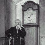 1950's TV Shows - Captain Kagaroo and Grandfather Clock, I loved Grandfather Clock.