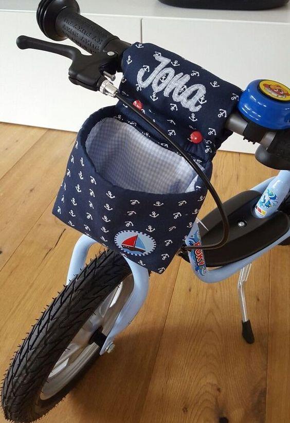 Der Hit war das Geburtstagsgeschenk: Ein PUKY-Laufrad. Aufsteigen, Losfahren: Kind glücklich. Damit Jona auch sein Hab und Gut verstauen k...