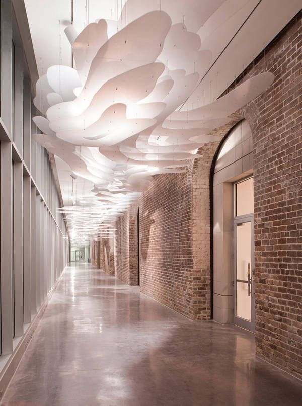 Spatial installation/ ceiling 2014 AIA Institute Honor Awards for  Architecture: SCAD Museum of Art / Sottile & Sottile and Lord Aeck Sargent