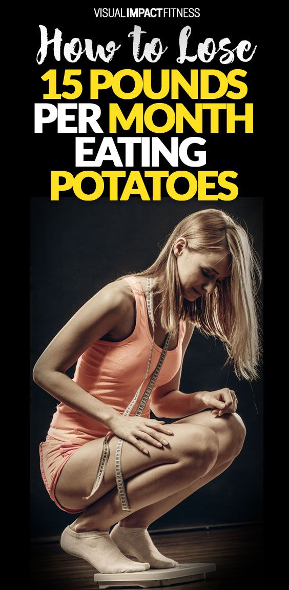Here's a seriously easy and quick fat loss hack to lose weight using potatoes.