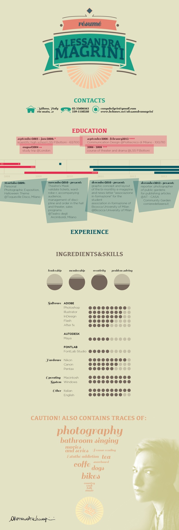 8 Best Graphic Design Resumes And Cover Letters Images On