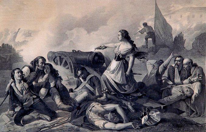 Efemérides de Madrid. 4 de marzo. 1786.- Nace en Barcelona la heroína honrada con una calle en Madrid Agustina Raimunda María Saragossa i Domènech, conocida por todos como Agustina de Aragón.