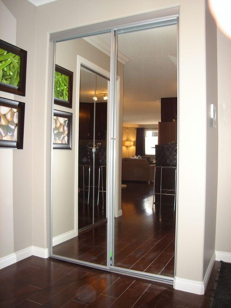 17 best ideas about mirrored closet doors on pinterest mirror door bedroom closet doors and. Black Bedroom Furniture Sets. Home Design Ideas