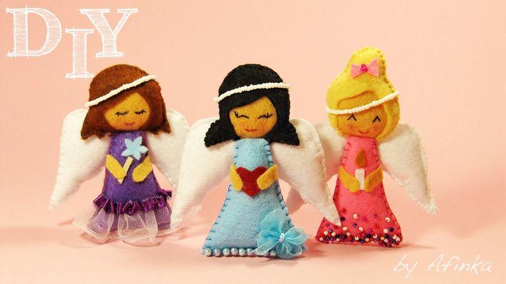 Ангел своими руками / Angel DIY / Afinka