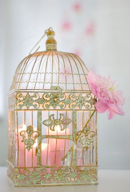 Candle in a bird cage are safe and easy with Candle Impressions flameless candles. Our remote control and timer options make lighting so easy!