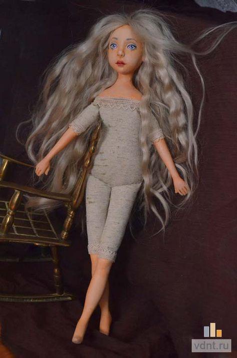 Как сделать авторскую куклу ручной работы: роспись и волосы | ВДНТ - лучшие работы мастеров рукоделия