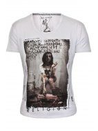 Religion Clothing T Shirt What Ever Happened in White £35 @sereneorder