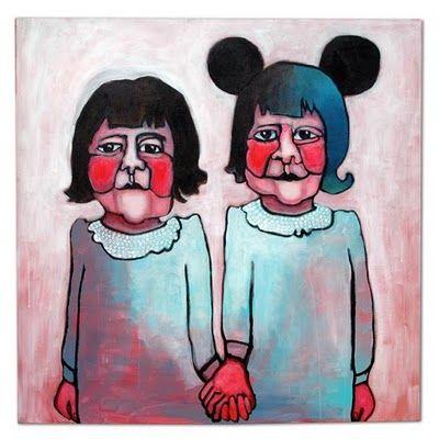 hihihi  Barbara van den Berg: schilderijen