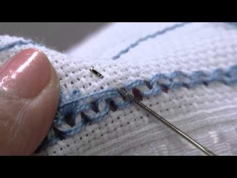Mulher.com 12/09/2014 - Toalha Lavabo Ponto Crivo por Leila Jacob - Parte 1 - YouTube