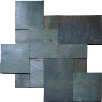 Bluestone Pavers (L), are $8.99 to $9.99 (depending on size), from DFM. Crushed stone prices vary. One yard of stone typically covers 162 square feet to a depth of 2 inches