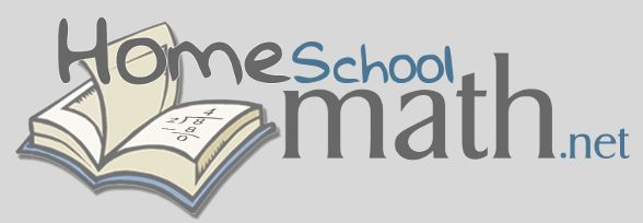 Home - HomeschoolMath.net Love this site, and love Math Mammoth, the owner of Homeschool Math created the curriculum.