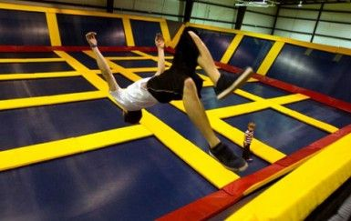 Bounce! Trampoline Sports - Jump wall-to-wall at this indoor trampoline park