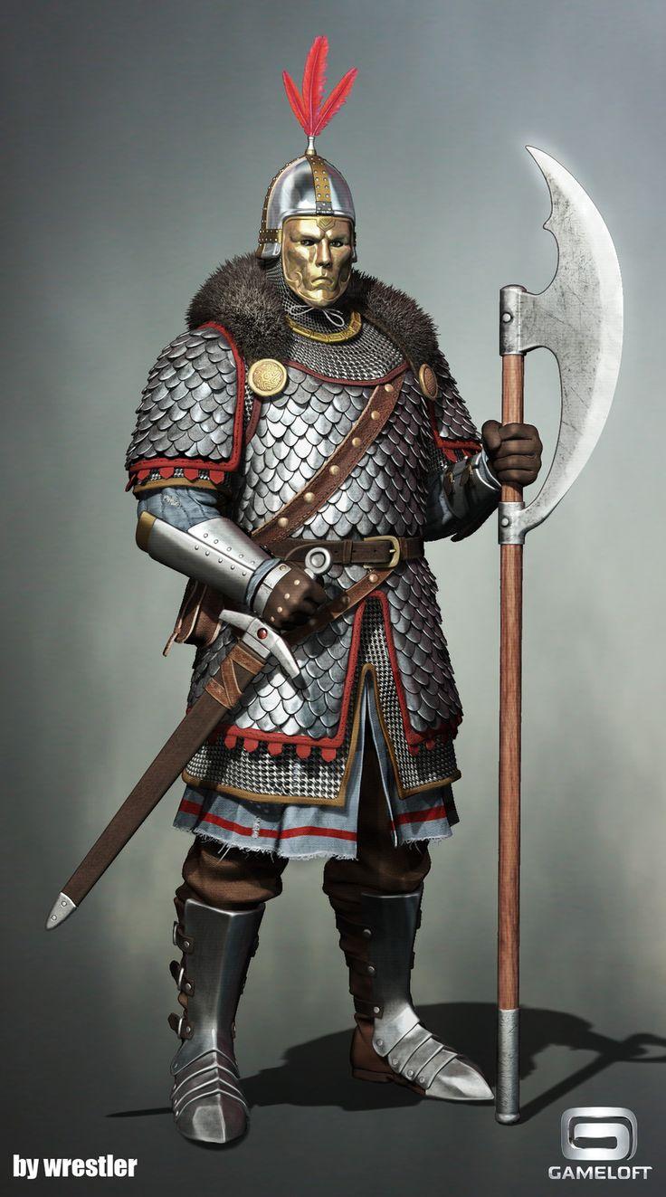 картинки русский воин средневековья гладить брать руки