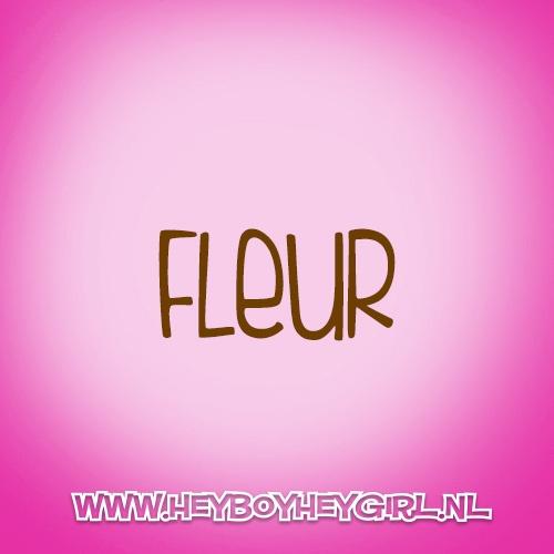 Fleur (Voor meer inspiratie, en unieke geboortekaartjes kijk op www.heyboyheygirl.nl)