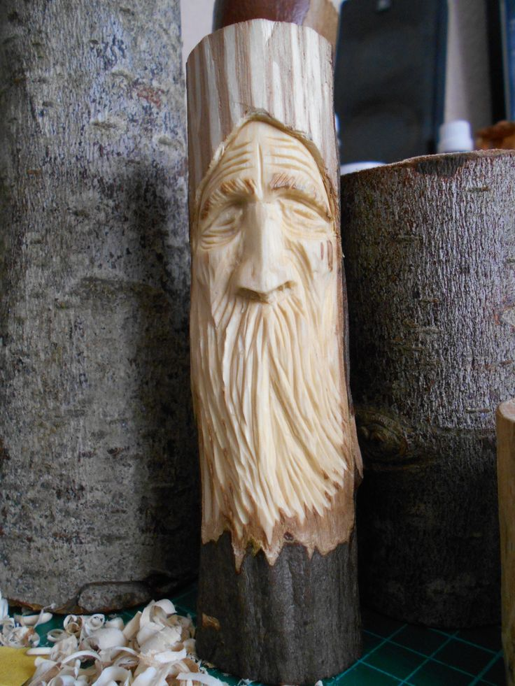 #woodcarvings, #woodspirit