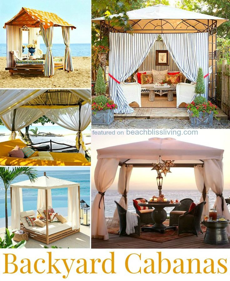 The 25 best backyard cabana ideas on pinterest shed for How to build a cabana