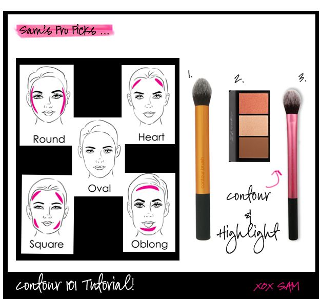 Learn how to step up your makeup game! Makeup Contouring 101 is where to start!