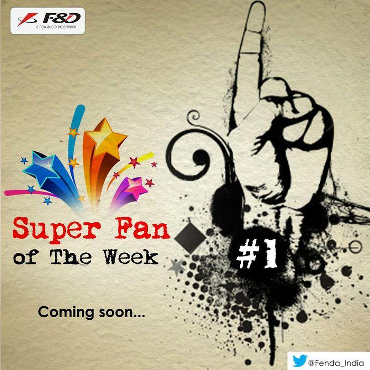 Super Fan of the week! #ComingSoon