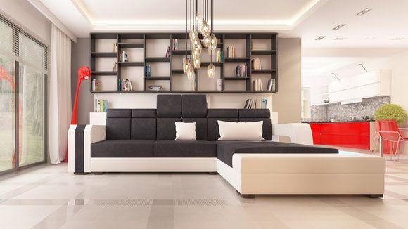 Unique Wohnlandschaft Sofa Couch Polster Ecke Ecksofa Garnitur Leder Designer Sofas Neu couch Pinterest
