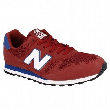 996 Leather, Baskets Homme, Rouge (Red/Wine), 42 EUNew Balance