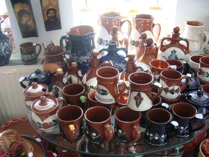 Ceramica Horezu, Vase traditionale