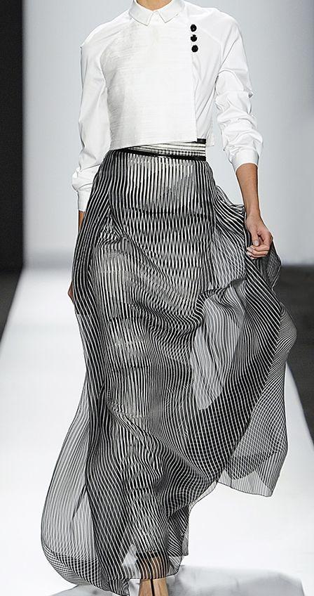 skirt...Carolina Herrera spring 2014