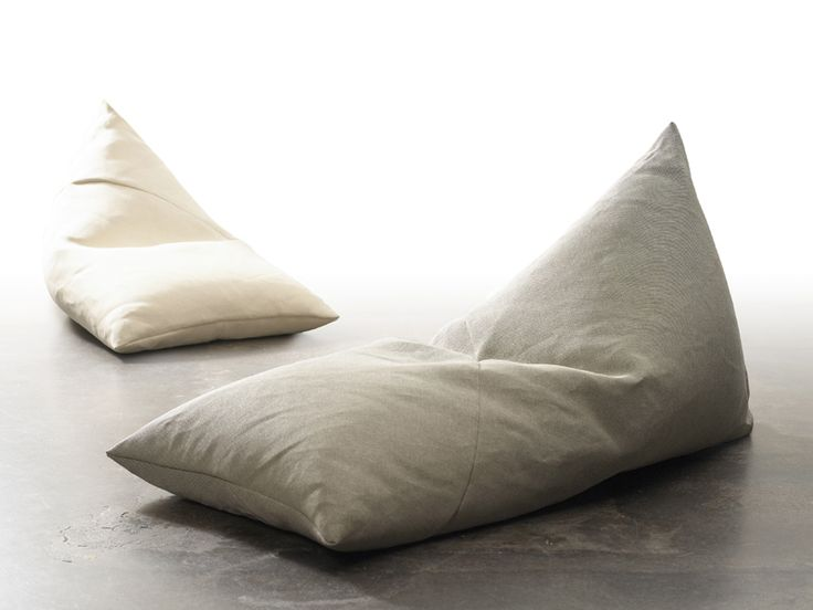 Fabric bean bag ROO by Woodnotes | design Ulla Koskinen