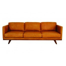 BOULEVARD 3 SEATER CHARME LEATHER TAN