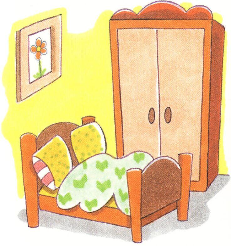Maestra de Infantil: La casa. Dependencias de la casa. Dibujos de objetos de la casa. Vocabulario de la casa.