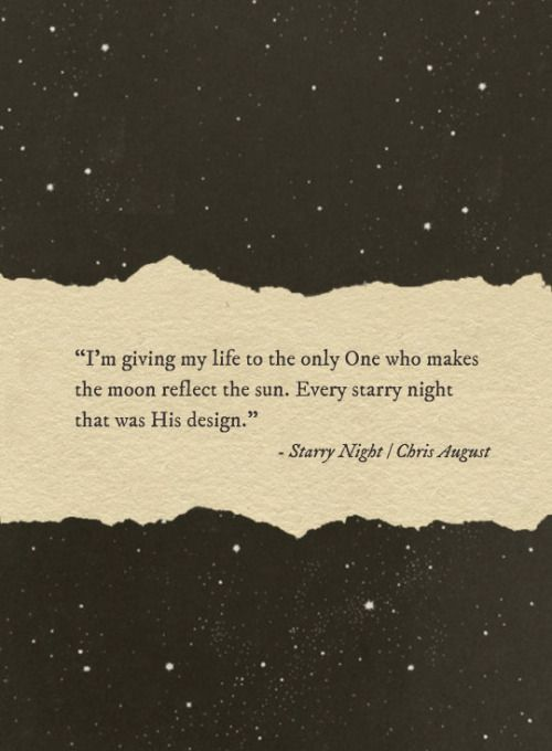 Starry Night - Chris August