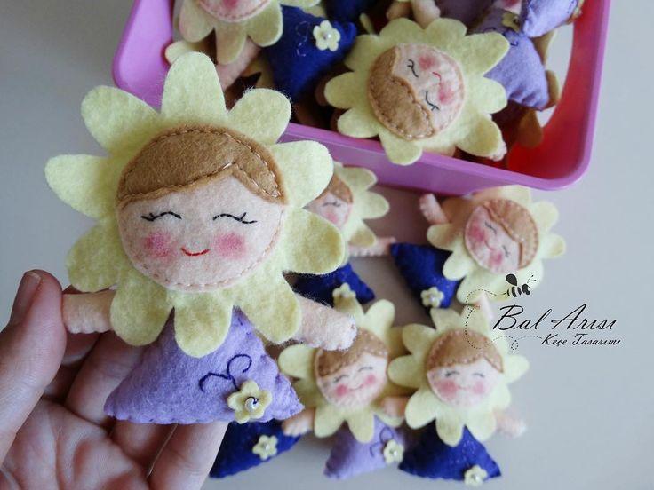 Papatya kızlar  Dilara Hanım'ın kızı Dilan için doğum günü magnetleri