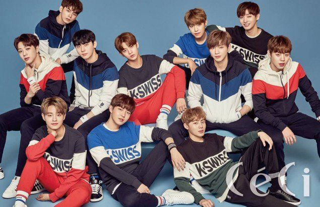 Wanna One go for comfy cute in 'K-Swiss' for 'Ceci' pictorial | allkpop.com