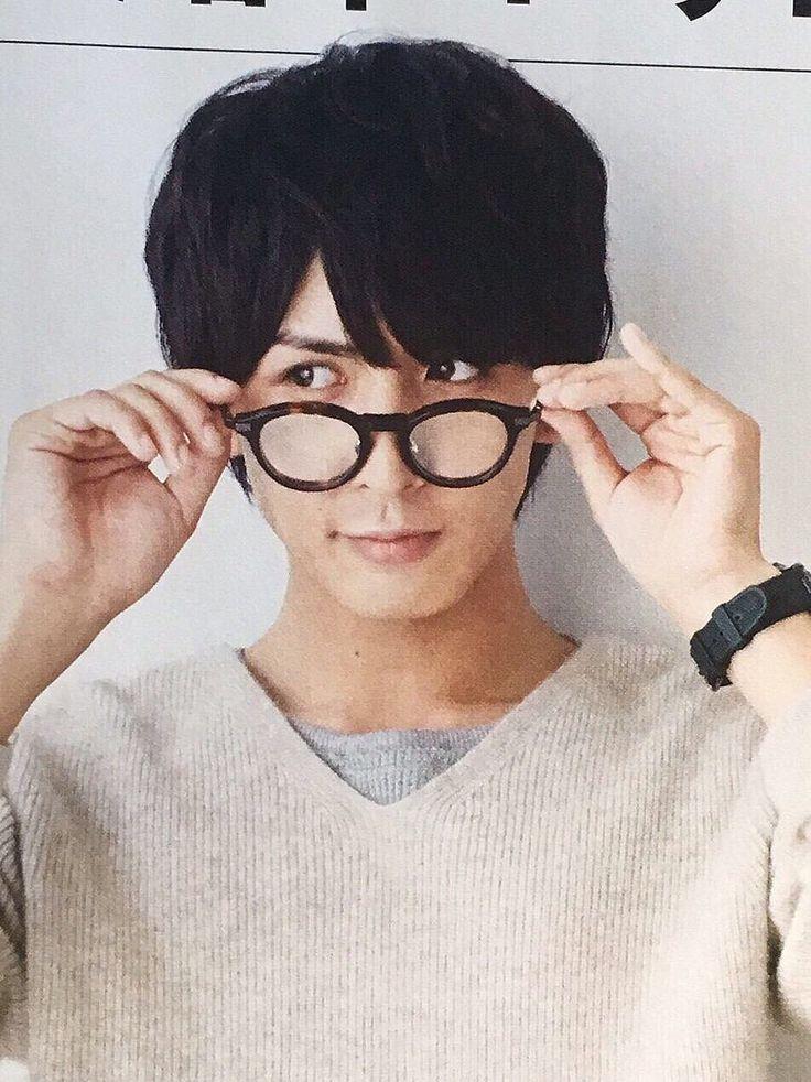 メガネが似合う藤井流星
