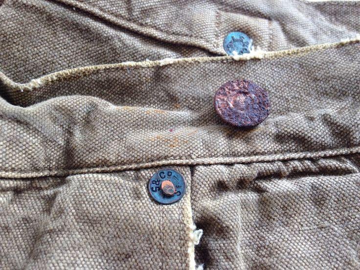 LVC 1901 Duck Canvas Waist Overall NEW 34x32 LEVIS VINTAGE CLOTHING in Kleding en accessoires, Heren: kleding, Spijkerbroeken | eBay