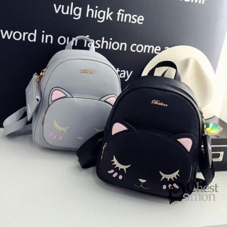 Cute Online Stores Backpack on The Demon's Chest.Cute Kawaii Cat Kitty Pu Backpack Kpop Cartoon Schoolbags Dc272 is a trendy and unique designer for every customer, which will be a eye- catching focus in the street. .It is a staple in your wardrobe for it can be worn for your daily outfit for many occasions.