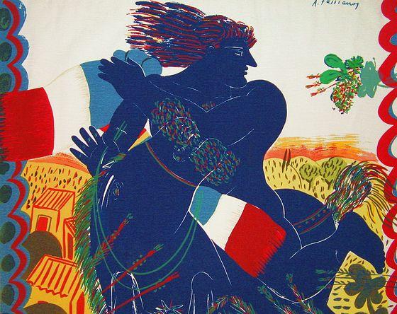 Notre soeur la France, par Yannis Ritsos