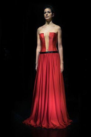 Alkmini collection, red dress www.alkmini.info