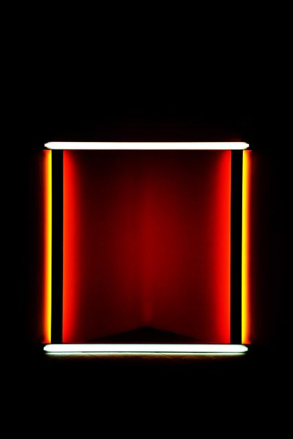 DAN FLAVIN at HAYWARD GALLERY LIGHT SHOW, photographed by nat urazmetova, SOME/THINGS AGENCY