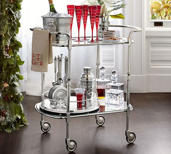 """$500 Brooke Bar Cart 