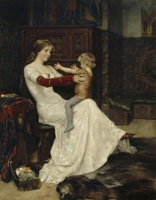 Albert Edelfelt: Kuningatar Blanka, 1877. Ateneumin taidemuseo, kok. Linder. Kuva: Valtion taidemuseo, Kuvataiteen keskusarkisto / Hannu Aaltonen