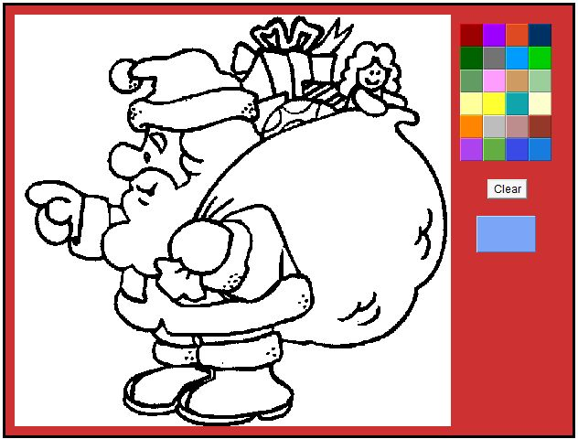 Coloring Pictures Of A Christmas Tree Find This Pin And More On Kids Games Online