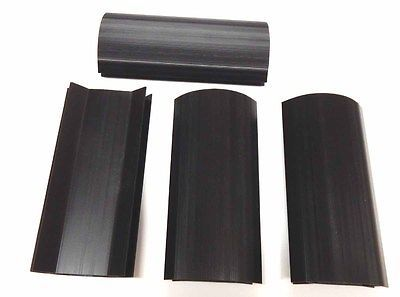 Other Billiards 1292: Set Of 4 Larger Black 7 3/4 Inch Plastic Corner Miter Cabinet Pool Table Parts -> BUY IT NOW ONLY: $49.95 on eBay!