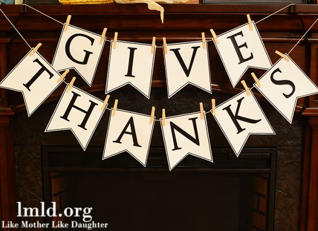 picture regarding Printable Thanksgiving Banner named thanksgiving printables
