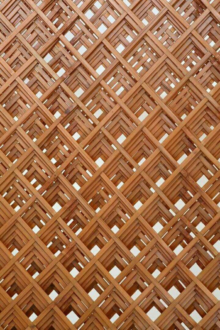 Weaving Illusion Bamboo Partition Weave Bamboo Weaving